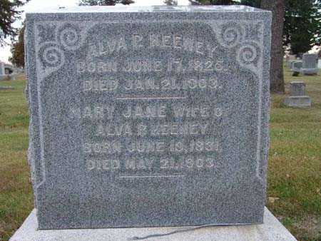 KEENEY, ALVA P. - Warren County, Iowa | ALVA P. KEENEY