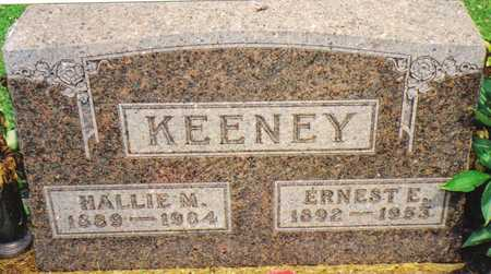KEENEY, ERNEST E. - Warren County, Iowa | ERNEST E. KEENEY