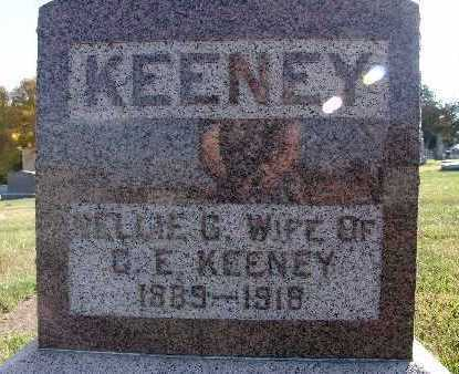 KEENEY, NELLIE G. - Warren County, Iowa | NELLIE G. KEENEY