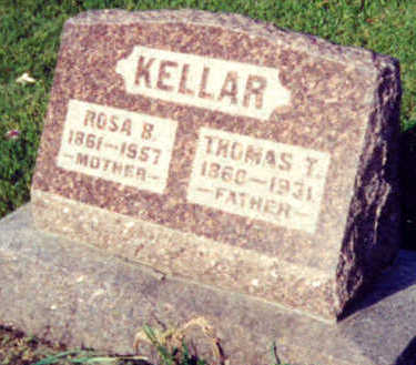 KELLAR, THOMAS TIPTON - Warren County, Iowa | THOMAS TIPTON KELLAR