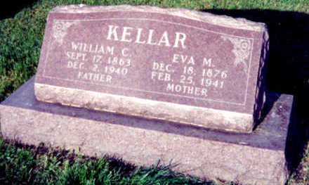 WHEELER KELLAR, EVA MAY - Warren County, Iowa | EVA MAY WHEELER KELLAR