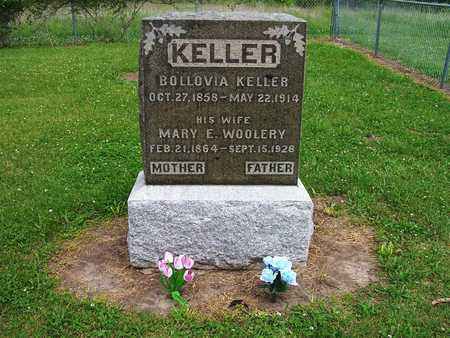 WOOLERY KELLER, BOLLOVIA I. AND MARY E. - Warren County, Iowa | BOLLOVIA I. AND MARY E. WOOLERY KELLER