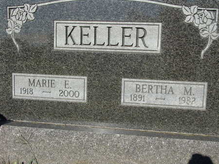 KELLER, BERTHA M. - Warren County, Iowa | BERTHA M. KELLER