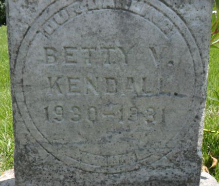 KENDALL, BETTY V. - Warren County, Iowa | BETTY V. KENDALL