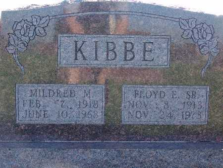 KIBBE, MILDRED M - Warren County, Iowa | MILDRED M KIBBE