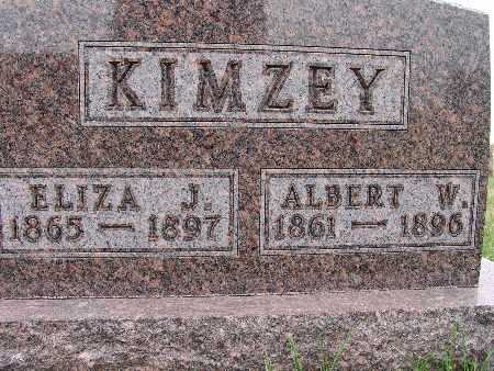 BARTRAM KIMZEY, ELIZA J. - Warren County, Iowa | ELIZA J. BARTRAM KIMZEY