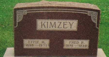 KIMZEY, FRED R. - Warren County, Iowa | FRED R. KIMZEY