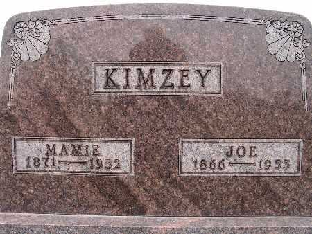 KIMZEY, JOE - Warren County, Iowa | JOE KIMZEY
