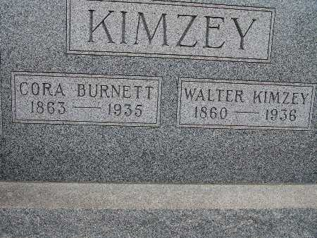 BURNETT KIMZEY, CORA - Warren County, Iowa | CORA BURNETT KIMZEY