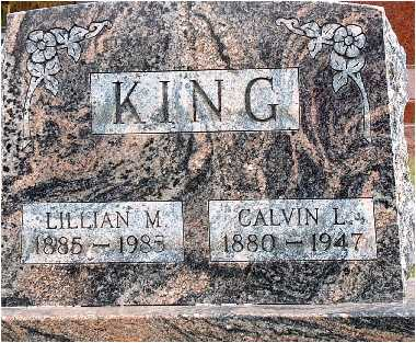 WISHMAN KING, LILLIAN - Warren County, Iowa | LILLIAN WISHMAN KING