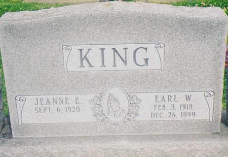 CLEVENGER KING, JEANNE E. - Warren County, Iowa | JEANNE E. CLEVENGER KING
