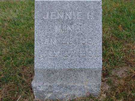 KING, JENNIE H. - Warren County, Iowa | JENNIE H. KING