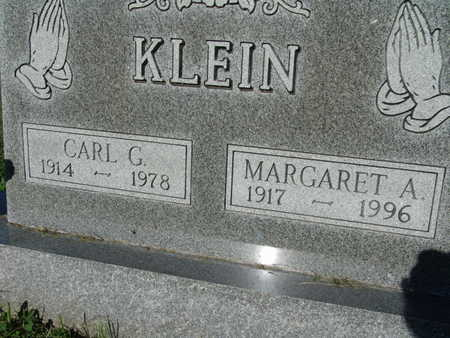 KLEIN, CARL G. - Warren County, Iowa | CARL G. KLEIN
