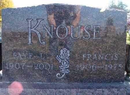 KNOUSE, FRANCIS - Warren County, Iowa | FRANCIS KNOUSE
