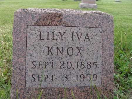 KNOX, LILY IVA - Warren County, Iowa | LILY IVA KNOX
