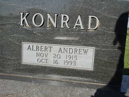 KONRAD, ALBERT ANDREW - Warren County, Iowa | ALBERT ANDREW KONRAD
