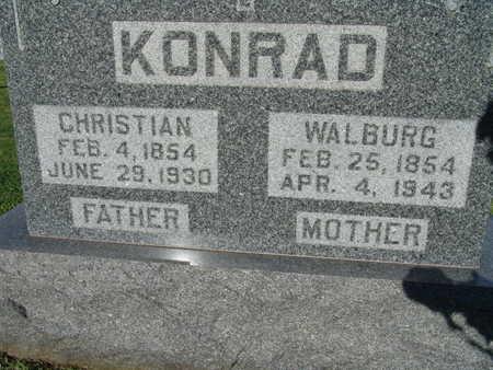 KONRAD, CHRISTIAN - Warren County, Iowa | CHRISTIAN KONRAD
