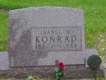 KONRAD, ISABEL M - Warren County, Iowa | ISABEL M KONRAD