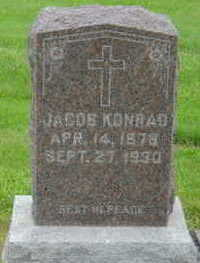 KONRAD, JACOB - Warren County, Iowa | JACOB KONRAD