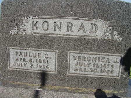 KONRAD, PAULUS C. - Warren County, Iowa | PAULUS C. KONRAD