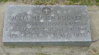 KOOKER, JULIA HEINEN - Warren County, Iowa | JULIA HEINEN KOOKER