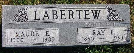 LABERTEW, MAUDE E. - Warren County, Iowa | MAUDE E. LABERTEW