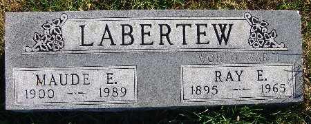 LABERTEW, RAY E. - Warren County, Iowa | RAY E. LABERTEW