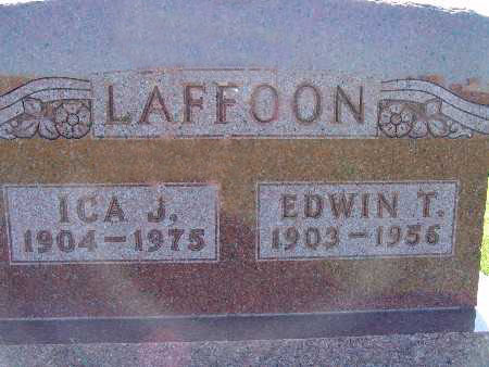 LAFFOON, ICA J. - Warren County, Iowa | ICA J. LAFFOON