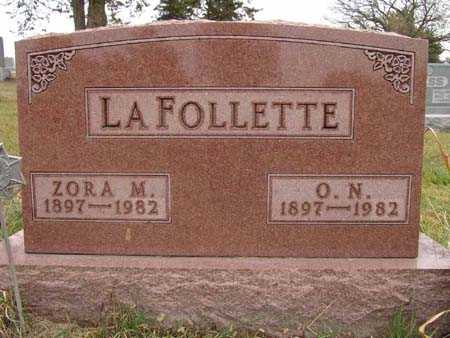 LAFOLLETTE, ZORA M. - Warren County, Iowa | ZORA M. LAFOLLETTE