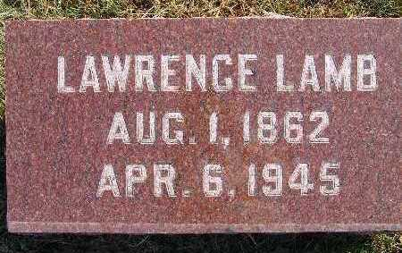LAMB, LAWRENCE - Warren County, Iowa | LAWRENCE LAMB