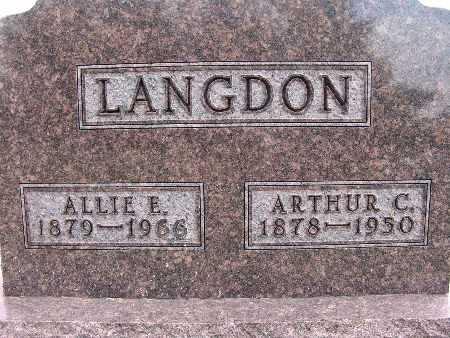 LANGDON, ALLIE E. - Warren County, Iowa | ALLIE E. LANGDON