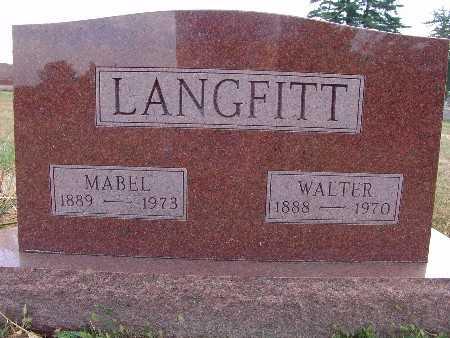 LANGFITT, MABEL - Warren County, Iowa | MABEL LANGFITT