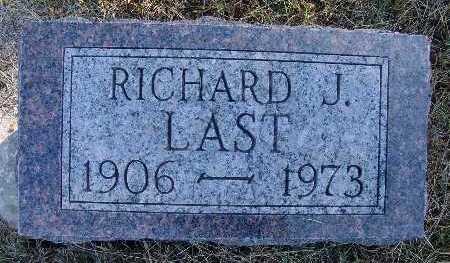 LAST, RICHARD J. - Warren County, Iowa   RICHARD J. LAST