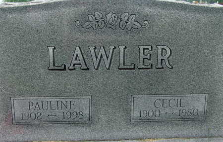 LAWLER, CECIL - Warren County, Iowa | CECIL LAWLER