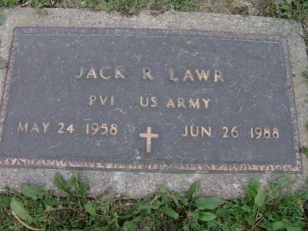 LAWR, JACK R. - Warren County, Iowa | JACK R. LAWR