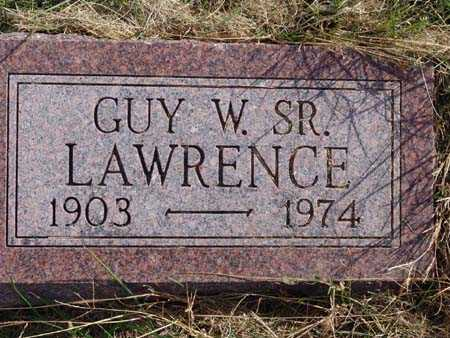 LAWRENCE, GUY W. SR. - Warren County, Iowa | GUY W. SR. LAWRENCE