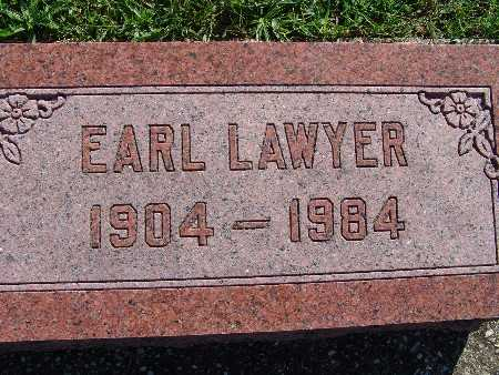LAWYER, EARL - Warren County, Iowa | EARL LAWYER