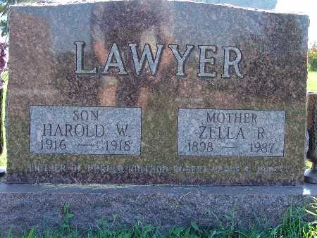 LAWYER, HAROLD W - Warren County, Iowa | HAROLD W LAWYER