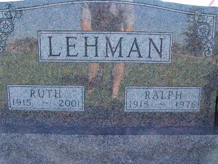 LEHMAN, RUTH - Warren County, Iowa | RUTH LEHMAN