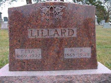 LILLARD, ETTA - Warren County, Iowa | ETTA LILLARD