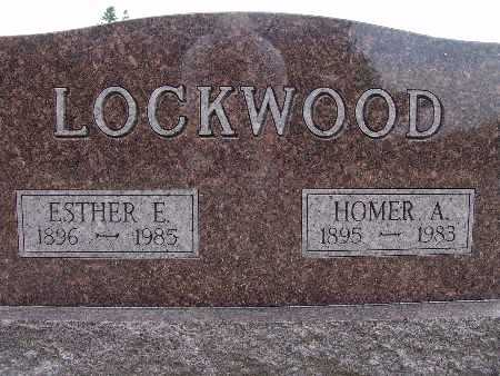 LOCKWOOD, HOMER A. - Warren County, Iowa | HOMER A. LOCKWOOD