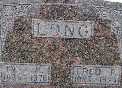 LONG, FRED R - Warren County, Iowa | FRED R LONG