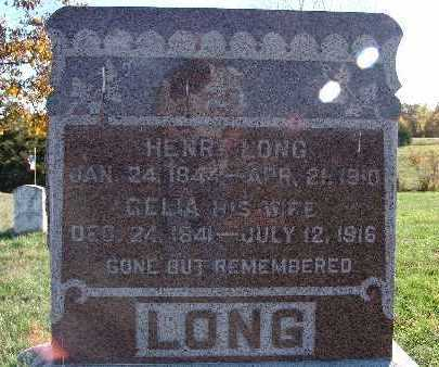 LONG, HENRY - Warren County, Iowa | HENRY LONG