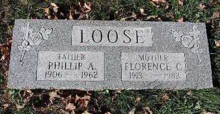 LOOSE, FLORENCE C. - Warren County, Iowa | FLORENCE C. LOOSE
