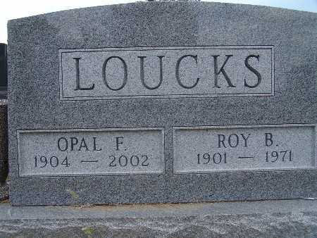 LOUCKS, OPAL F. - Warren County, Iowa | OPAL F. LOUCKS