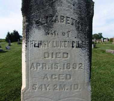 LUKENBILL, ELIZABETH - Warren County, Iowa | ELIZABETH LUKENBILL