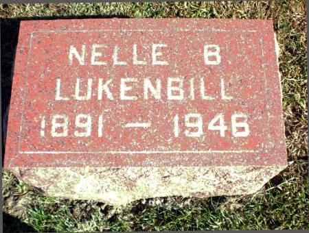 LUKENBILL, NELLE B. - Warren County, Iowa | NELLE B. LUKENBILL