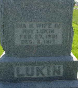 LUKIN, AVA M - Warren County, Iowa | AVA M LUKIN