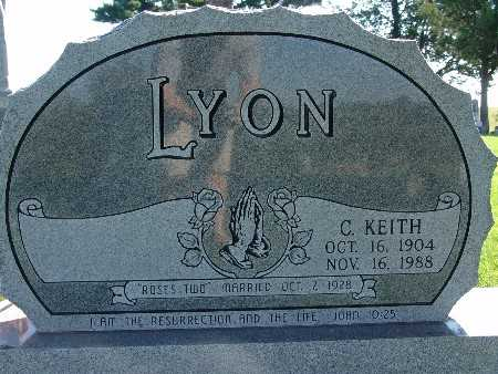 LYON, C KEITH - Warren County, Iowa | C KEITH LYON