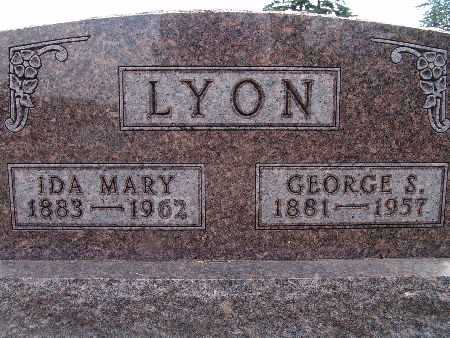 LYON, GEORGE S. - Warren County, Iowa | GEORGE S. LYON